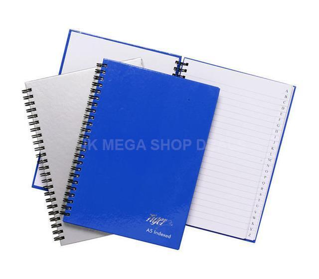 Quality Twinwire A-Z Indexed Notebook Ruled Book Address//Office//Telephone Index