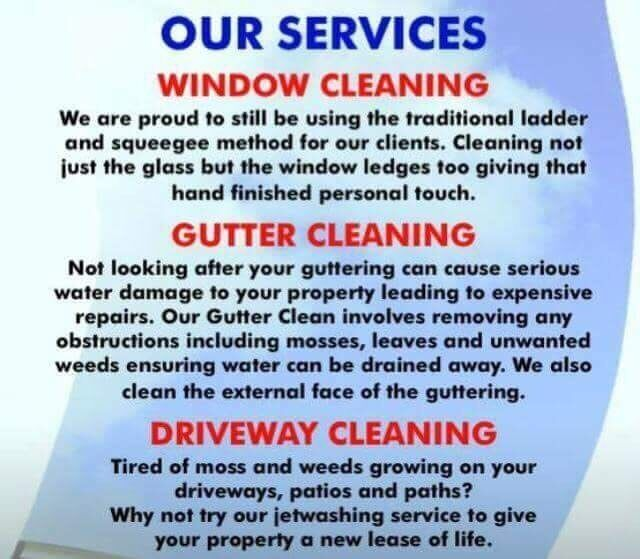 Tony 39 s window cleaning gardening services in hodge for 20 20 window cleaning mashpee ma
