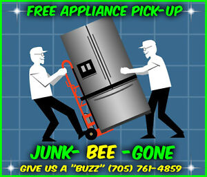 ♻️FREE Appliance Pick up & Recycling Service♻️