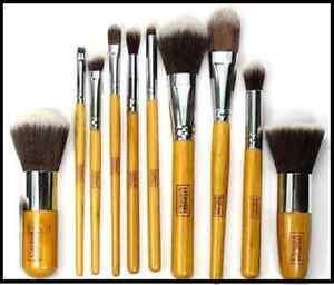 10-Pcs-Professional-Make-up-Brush-Set-Foundation-Eyeshadow-Blusher-Kabuki-UK