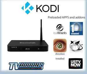 "MOVIE BOX ANDROID TV WITH KODI ""Fully PROGRAMMED"""