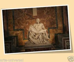 SAINT-PETERS-BASILICA-PIETA-MICHELANGELO-PRINT-POSTER-SIZE-PICTURE-MIGUEL-ANGEL