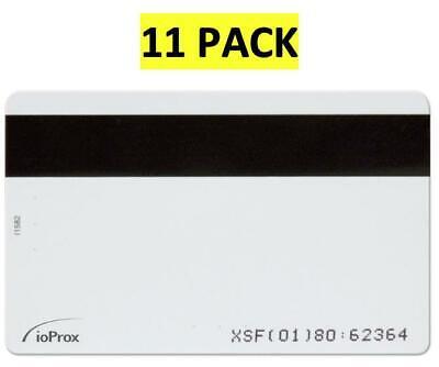 11 Pack Kantech P30dmg Ioprox Xsf26 Bit Identification Proximity Lock Card