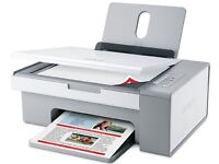 BARGAIN LEXMARK X2550 PRINTER FAX SCANNER ALL IN ONE WITH 3 INK CARTRIDGES INCLUDED