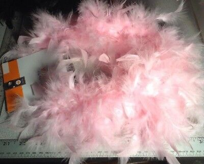 New Feather Boa Adult Halloween Costume Accessory Pink