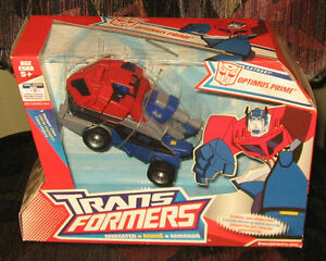 Transformers Animated Voyager Optimus Prime MISB