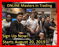 Master In Trading Course - Starts August 20, 2019