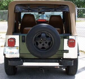 jeep yj wrangler body armor diamond plate corner guard on sale only 55 94 wow ebay. Black Bedroom Furniture Sets. Home Design Ideas