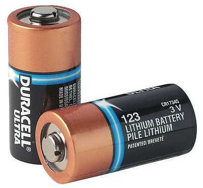 10 X Duracell Cr123a  Dl123a  Pl123a  El123a 3V Lithium Batteries