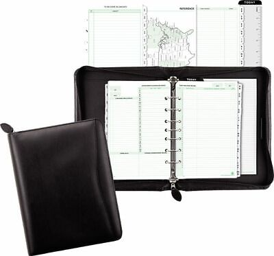 Recycled Bonded Leather Starter Set Desk Size - Planner Sets Recycled Starter Set