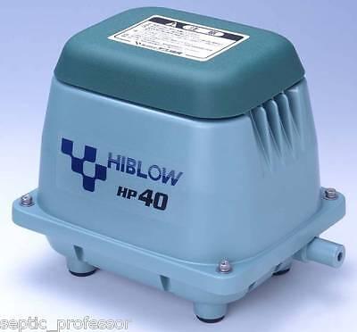 HIBLOW HP-40 HP40 NEW SEPTIC AIR PUMP POND AERATOR DIY