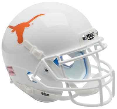 TEXAS LONGHORNS Schutt AiR XP Full-Size REPLICA Football Helmet (CHROME LOGO)