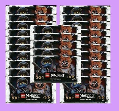 25 BOOSTER LEGO NINJAGO Serie 3, Trading Card Game, 125 Karten