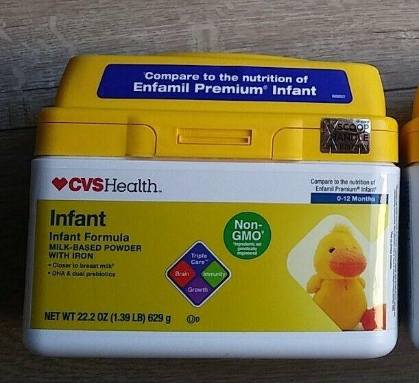 CVS Health Non-GMO Infant Formula with Iron 0- 12 months  22.2 oz EXP 9/2022