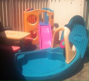 Kiddy play castle only boat and table are sold Rozelle Leichhardt Area Preview