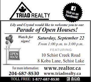 Lakefront and Creekside Schist Lake Open Homes!