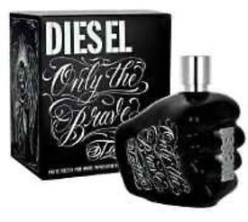 Diesel 'Only The Brave' 35ml Brand New RRP £33 will accept £20 Aftershave Cheap Gift Easter!