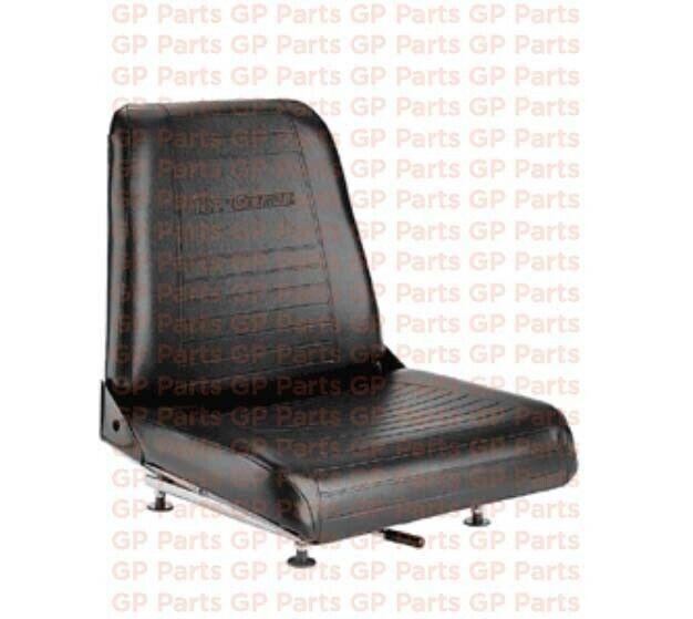 "Hyster 0109983, VINYL FORKLIFT SEAT (17.50""H X 18.75""W X 21.00""D)"
