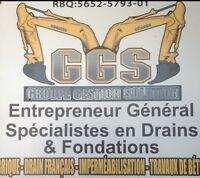 Entrepreneur général GGS inc 514-996-3755