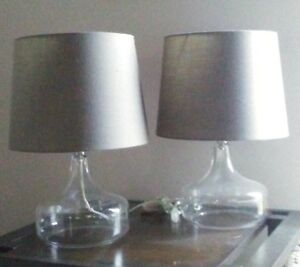 HOLLOW BASE LAMP SET FOR SALE