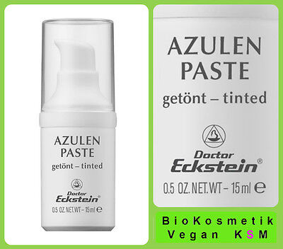 Azulen Paste getönt Dr.Eckstein BioKosmetik gegen Rötungen und Hautunreinheiten