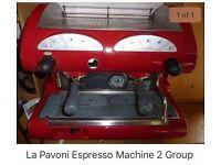 La Pavoni 2 Group Coffee Machine professionally refurbished and pressure tested