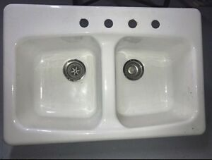 Porcelain sink $99
