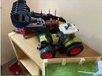 Tractor Trailer Loader Wooden Farm
