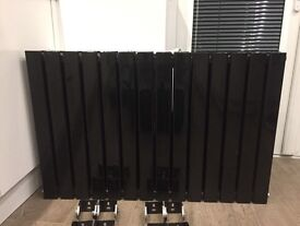 High Gloss Black Double Radiator 2 Available