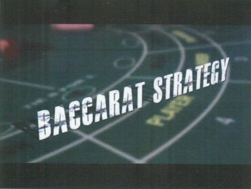 Baccarat system strategy guide. Guaranteed to win. Money back if you lose.