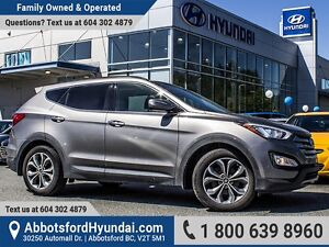 2015 Hyundai Santa Fe Sport 2.0T Limited ONE OWNER & ACCIDENT...