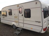 Caravan bailey pageant Auvergne 5berth 19ft with Motor mover