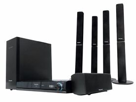 Panasonic SC-BT205 Blue Ray Home Theatre System 5.1 Surround wireless rear speakers