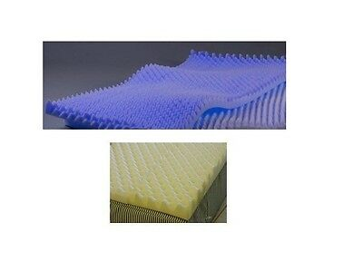 Egg Crate Convoluted 3 Inch Foam Mattress Pad / Topper Twin Size