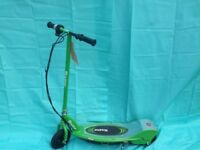 Upgraded Razor E225 Electric Scooter - Green - Brand New - 2 HOUR RIDETIME