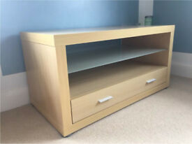Tv stand wood effect, excellent condition