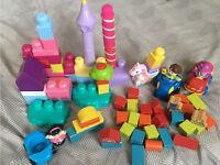 selection of Mega blocks and bricks