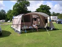 Outwell Ohio L Tent with two matching wind breakers