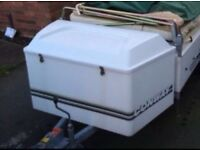 WANTED: Trailer / trailer tent storage box that fits on to the front frame of the trailer.