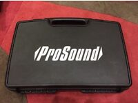 ProSound VHF Twin Handheld Radio Mic Kit £60 ONO.
