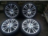 "Genuine Bmw 403m Alloys 19"" with Pirelli tyres"