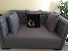 Sofa 2 Seater Grey