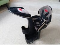 Wee ride deluxe child seat for bike