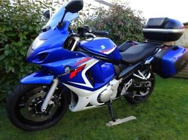 GSX650 for sale!!! 2008 model 10k miles excellent condition with luggage extras