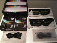 3D glasses (Bluetooth) 2 pack