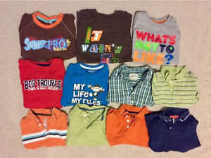 Boys Size 3 Short Sleeve Shirts