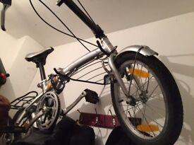 Bike fold down