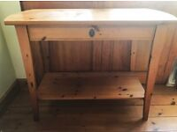 Stunning solid pine TV unit stand sideboard storage table French