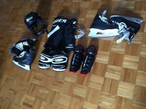 Hockey Equipment & Skates / Équipement Hockey et patins