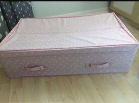 Next pink spot underbed storage